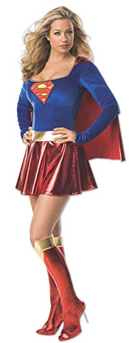 Kostüm Dress Golden - Rubie's 888239 - Supergirl Kostüm, Größe:M