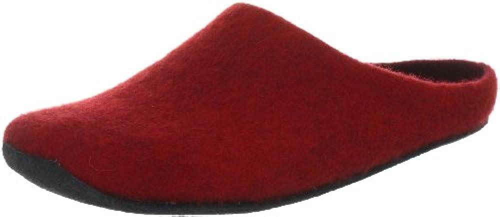 MagicFelt JU 720, Unisex-Erwachsene Pantoffeln, Rot (rubin 4823), 37 EU (4 Erwachsene UK)