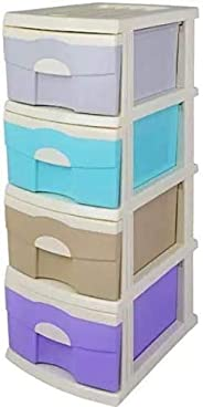 Four-layer storage box plastic drawer storage cabinet baby clothes multi-layer