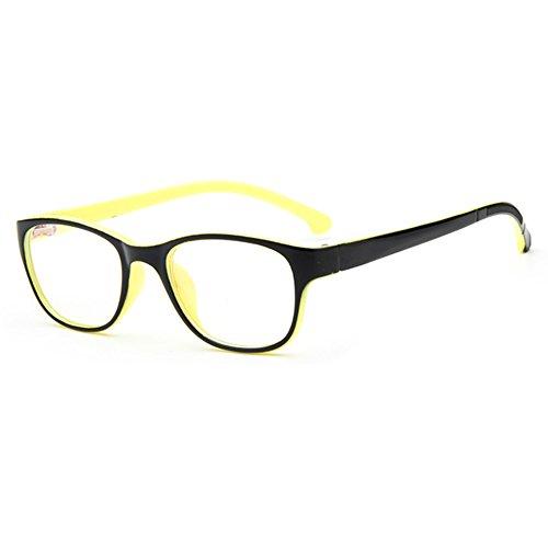 (Hibote Mädchen Junge Brillen - Clear Lens Glasses Frame Geek/Nerd Brillen mit Car Shape Gläser Fall 112210)