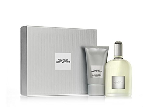Tom ford grey vetiver confezione regalo 100ml edp + 75ml balsamo dopobarba