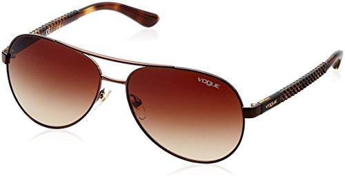 Vogue Gradient Aviator Women'S Sunglasses - (0Vo3997S934/1358|58. 0|Brown Gradient) image