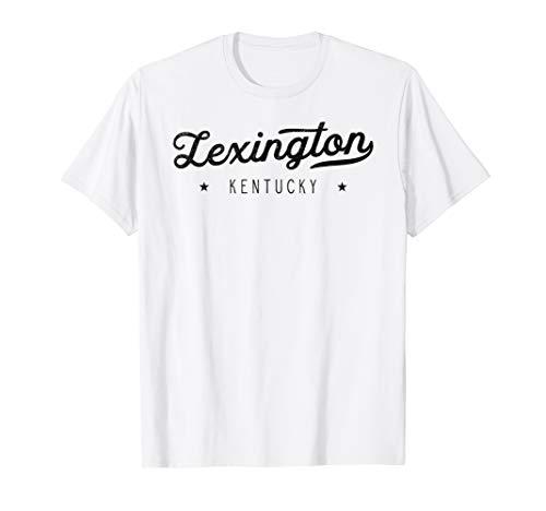 Classic Retro Vintage Lexington Kentucky USA Gift T-Shirt -