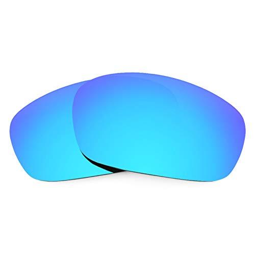 Revant Ersatzlinsen für Oakley Jawbone Eisblau MirrorShield® Asian Fit