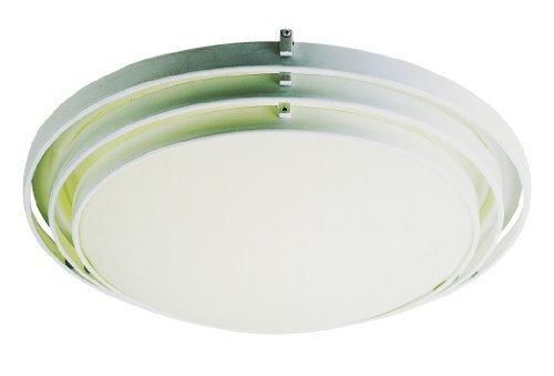 Trans Globe Lighting PL-2482 WH 1-Light Flush-Mount, White by Trans Globe Lighting -