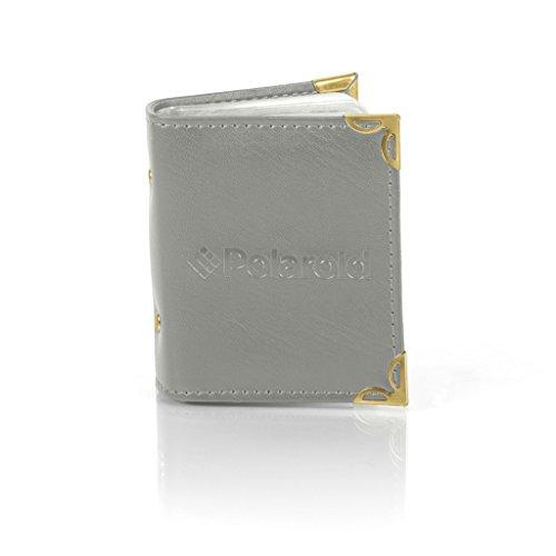 Polaroid Fotoalbum für 2x3 Zink-Fotopapier (Snap Zip, Z2300) - Grau