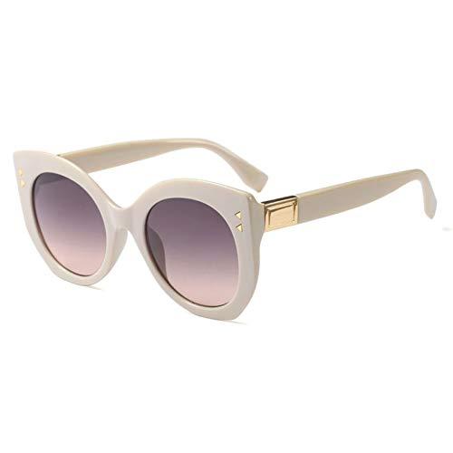 CHENGZI Runde Cat Eye Sonnenbrillen Damen Sonnenbrillen Damen Damen