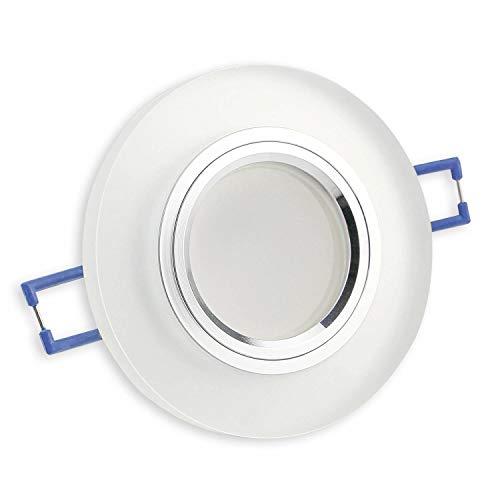Foco LED empotrable de cristal 12 V - MR16, 60 - 70...