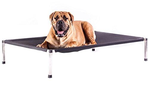 Bed4dogs Hundeliege Hunde von 0 bis 100 kg - S bis XXL Hundebett - Schwarz - Braun - Grau -...