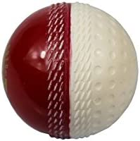 FLASH RED IN WHITE TURF[ RED SYNTHETIC WHITE TURF BALL ] PRACTICE BALL PACK OF 6 BALLS