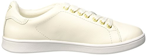 Guess Super Sneakers Punta Lurex Pelle White Bianco FLSPR3-LEA12 Bianco