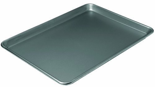 Chicago Metallic Non-Stick Large Jelly Roll Pan, 16-3/4 by 12-Inch by CHICAGO METALLIC Chicago Metallic Non Stick Jelly Roll Pan