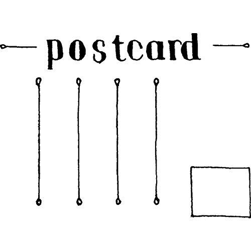 A8 'Leere Postkarte' Stempel (Unmontiert) (RS00018594) -