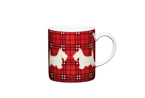 Liebhabertasse Espresso Tasse + superweißes Porzellan Kaffee 80 ml Becher 1 Cup (Schotty Hund)