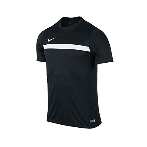 Nike Academy16 SS Top - Maglietta da uomo, UOMO, negro / blanco (black / white / white), M