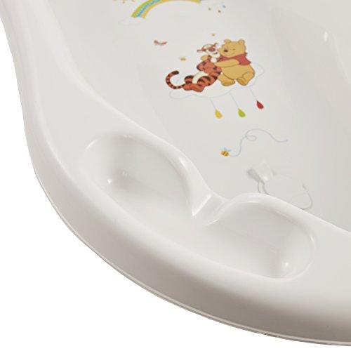 """keeeper 18423100084 jan """"winnie the pooh"""" babywanne 84 cm mit stöpsel weiß - 6"""