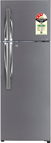 LG 308 L 3 Star Frost-Free Double-Door Refrigerator (GL-T322RDSU, Dazzle...