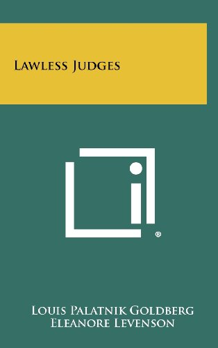Lawless Judges