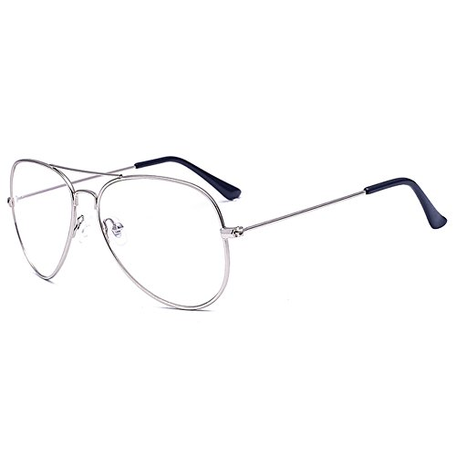 Hombres Mujeres Clear Lens Geek / Nerd Retro Wayfarer Glasses Highdas
