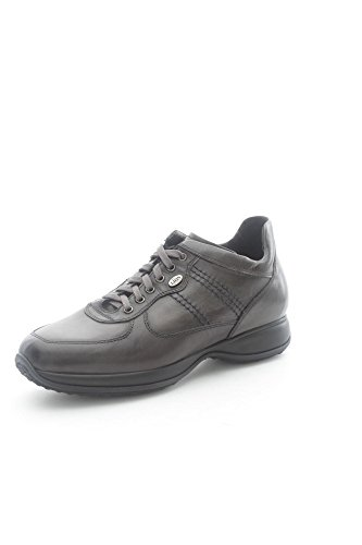 Lion 11140 Sneakers Uomo Pelle Grigio Grigio 43