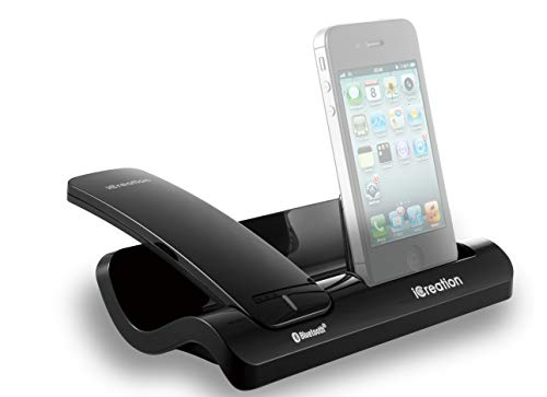 Geemarc I450 Schwarz - Design Dockingstation für die i-Phone Serie (3 bis 4S) mit Bluetooth Headset Dect 6.0 Serie
