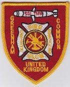 Applikation Aufbügler Patches Stick Emblem Aufnäher Abzeichen ,, USAF Patch GLCM USAFE 501 TMW Crash Fire Rescue Greenham Patch ,, 97 x 80 mm ,,