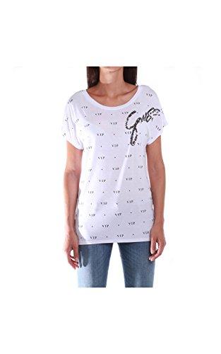 Guess W62P15 K3HH0 A000 t-shirt bianco