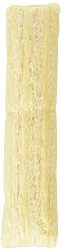 QCHEFS Puffed Cheese |Hunde Zahnpflege-Snack| Kauknochen groß|Knochen gegen Mundgeruch & Zahnfleischentzündung| Zahnsteinentferner|Hundeleckerlie| Kaustreifen|Hüttenkäse- natürlich antibakteriell -