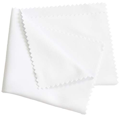 argus 20, 50 oder 100 Stück hochwertiges Mikrofasertuch Handyreinigungstuch, Bildschirmreiniger, Brillenputztuch (20 Stück)