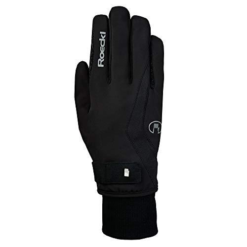 Roeckl Sports Winter Handschuh Wellington GTX Unisex Reithandschuh, Schwarz, 8,5