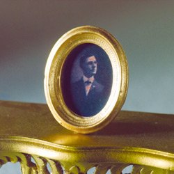 1/12TH scale ovale immagine di un gentiluomo