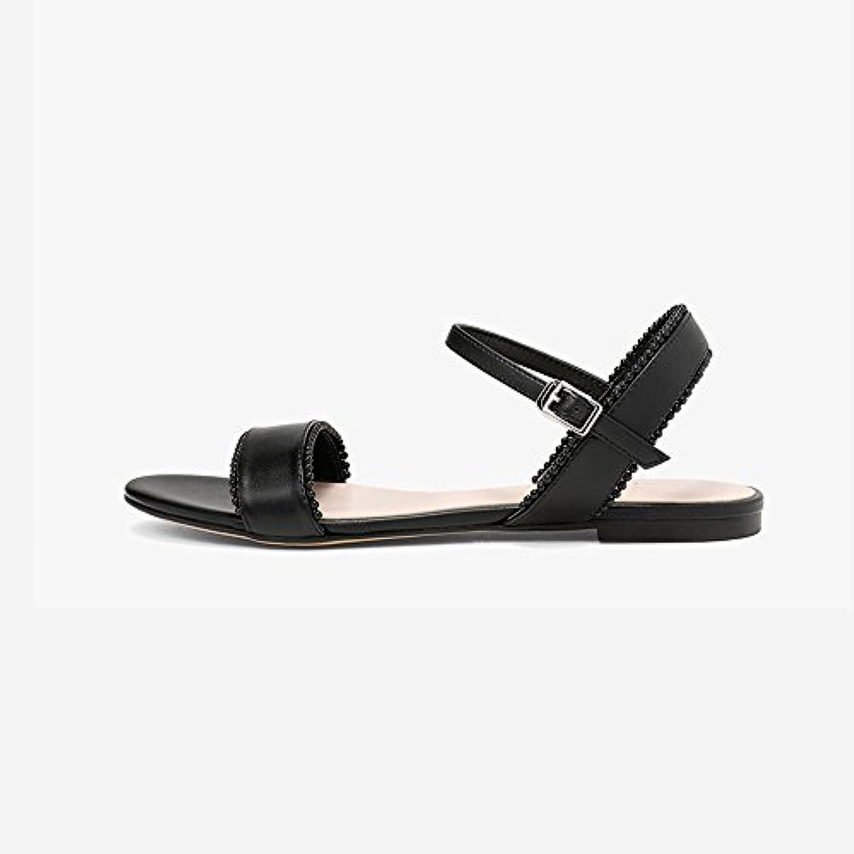 YQQ Zapatos De Playa Solo Zapato Femenino Zapatos Planos Tacones Bajos Zapatos Casuales Zapatos De Vacaciones...