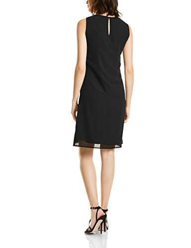 Street One Damen Kleid 140570, Schwarz (Black 10001), 38 - 2