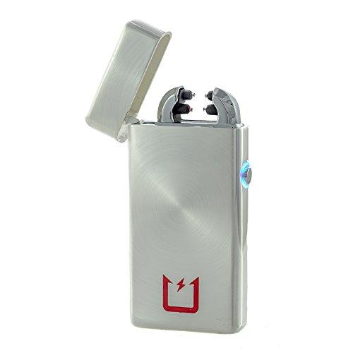 toruz-accendino-usb-ricaricabile-elettronica-con-dual-arc-e-led-pulsante-silver