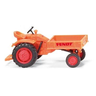 089941 - Wiking - Fendt Geräteträger orange 1960-1967 1965-spielzeug