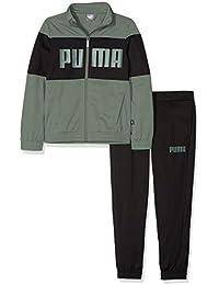 Puma Rebel Suit B Chándal, Niños, 852132, Laurel Wreath, 140