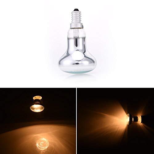 TOMATION Edison-Birne E14 R50 Reflektor-Typ Scheinwerfer - Spot-Glühbirne - Lava-Lampe - Glühlampe Kleine Schraube ersetzen - SES 60W -
