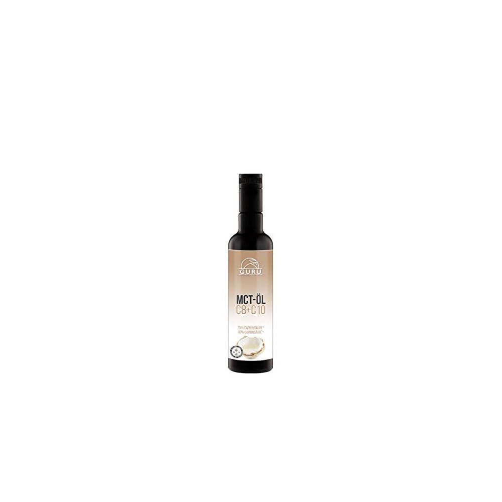 Mct L Von Guru In Lichtgeschtzter Ultravioletter Flasche 100 C8 C10 Fettsuren