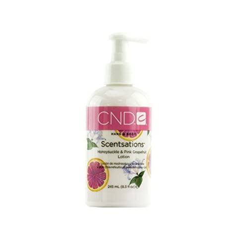 Creative Nail Design Scentsations Honeysuckle and Pink Grapefruit Lotion 8.3 Ounces (Japan import)