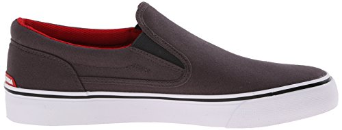 DC Trasé homme Slip-On Shoe T Grey/black/red