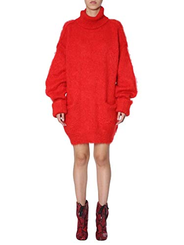 Maison Margiela Damen S51ha0858s16425314 Rot Wolle Sweater
