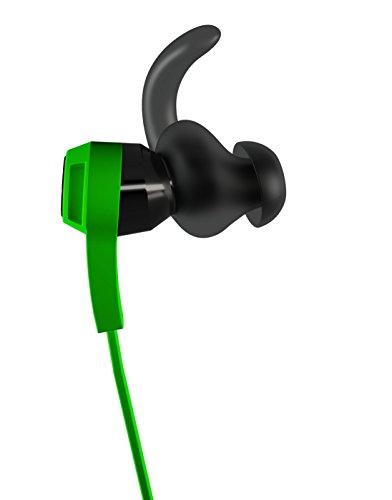 JBL Synchros Reflect In-Ear Sportkopfhörer Ohrhörer mit Schweißabweisend mit 3-Tasten-Lautstärkeregelung/Musiksteuerung/Mikrofonsteuerung und Reflektierendem Kabel Kompatibel - Grün - 4