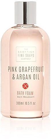 *NEW* Pink Grapefruit & Argan oil 300ml Bath Foam, Scottish Fine Soaps by Scottish Fine Soaps