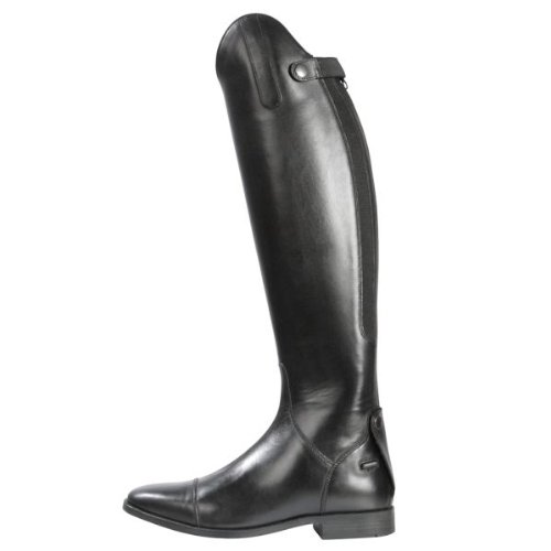 Pfiff Lederstiefel -Romont-, hochwertiger Reit-Stiefel aus Leder in schwarz, Normalschaft (NS) und Weitschaft (WS), 36 bis 54