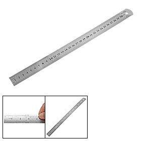 TOOGOO(R) Edelstahl Lineal metrische Funktion 30cm 12 Zoll
