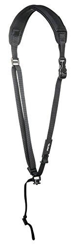 Rollei Profi Kameragurt Flex Tragesystem mit 15 kg Tragkraft und Schnellverschlusssystem - Geformte Vorderseite Der Brust