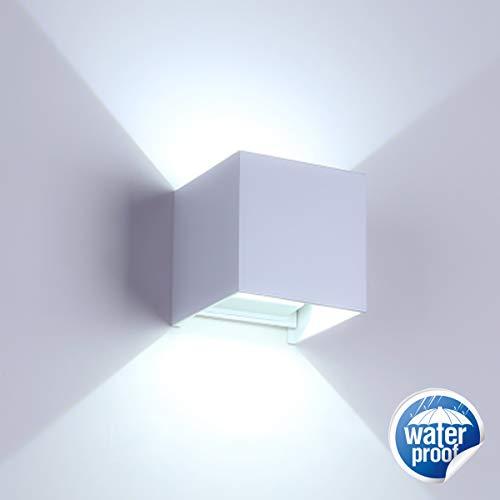 Lámpara de pared LED moderna de 12W / lámpara de pared para exteriores, ángulo de haz...