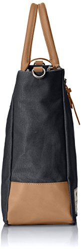 Clarks the Gray, Sacs Portés Main Femme, 14x36x45 cm Noir (Black Canvas)