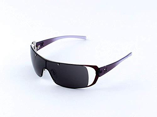 Exté - EX 75304 - Designer Sonnenbrille Violett mit grünen Gläsern