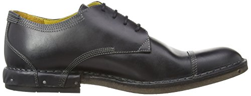 Fly London Hard, Chaussures de ville homme Noir (Black)